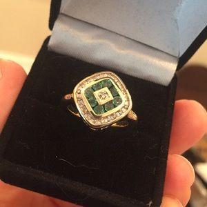 Jewelry - 14k Emerald Diamonds